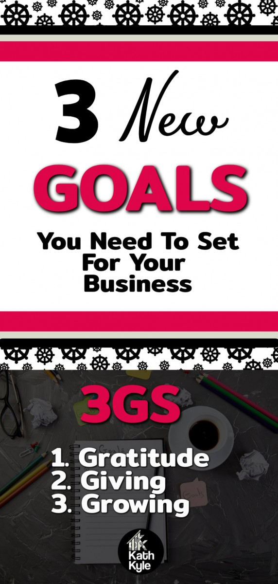 3 New Types Of Goals In Business You Really Need: The 3Gs (Part 1)