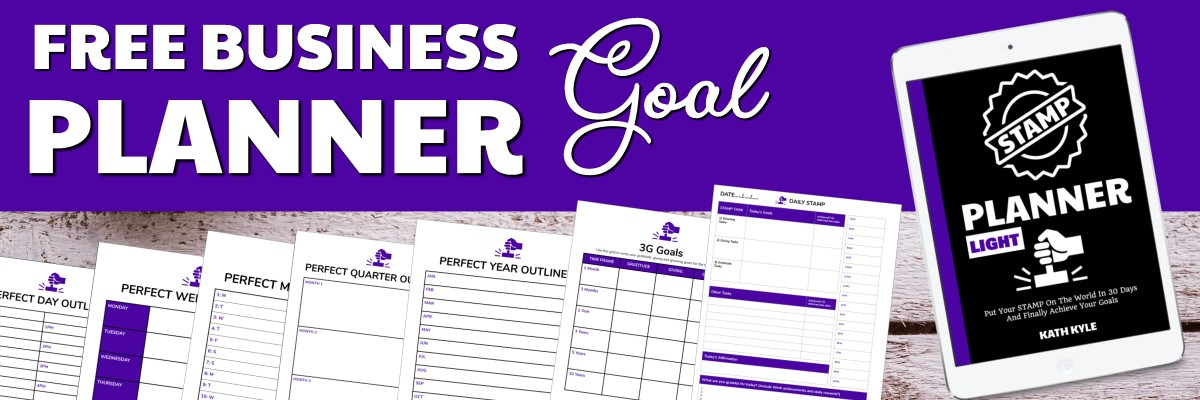 Free goal planner for business owners