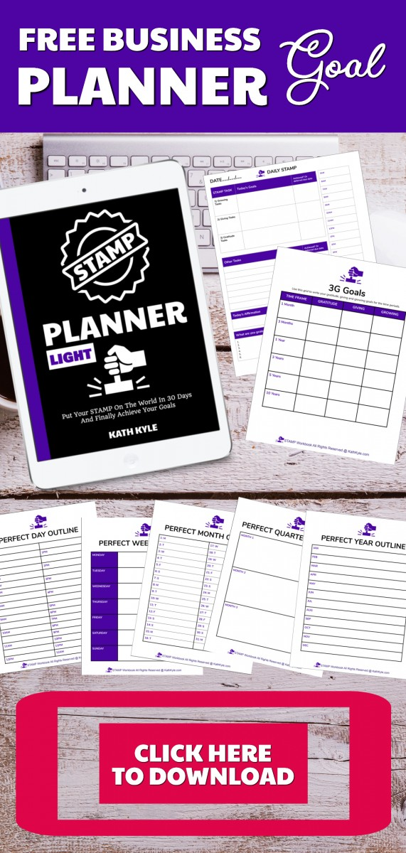 FREE Goal Planner For Entrepreneurs
