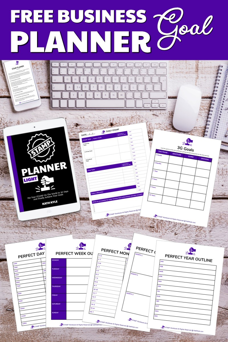 FREE Goal Achievement Planner For Businesses