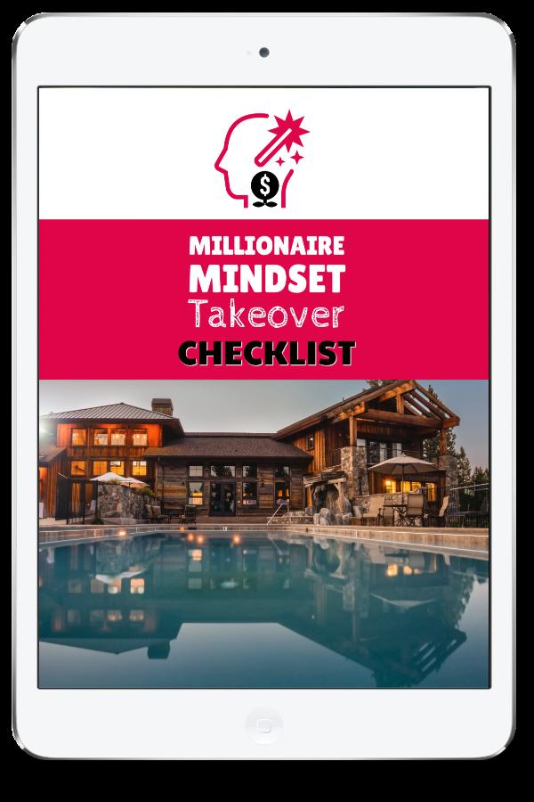 Millionaire Mindset Takeover Checklist Ipad
