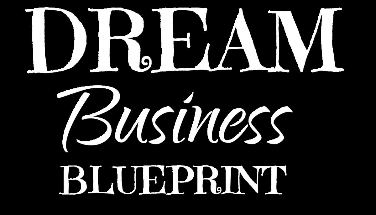 Dream Business Blueprint Text Logo
