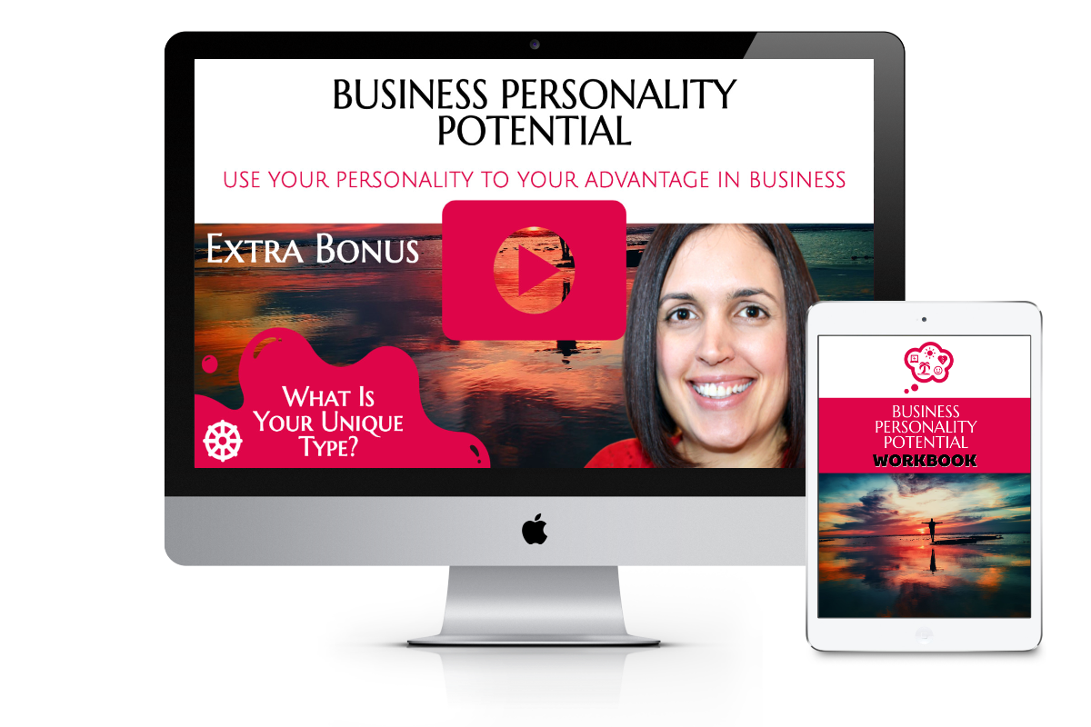 Business Personality Potential Imac and Ipad