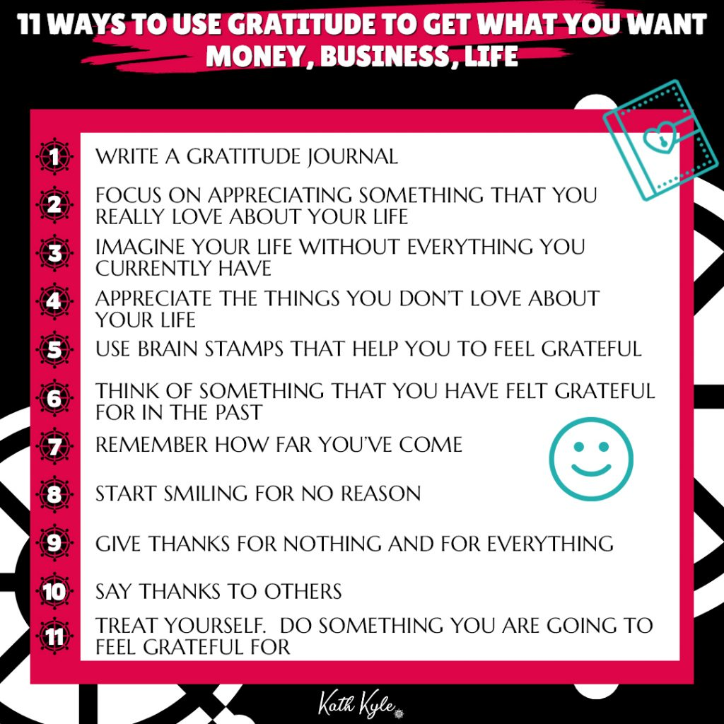 How To Use Gratitude To Get What You Want (Money, Business, Life)