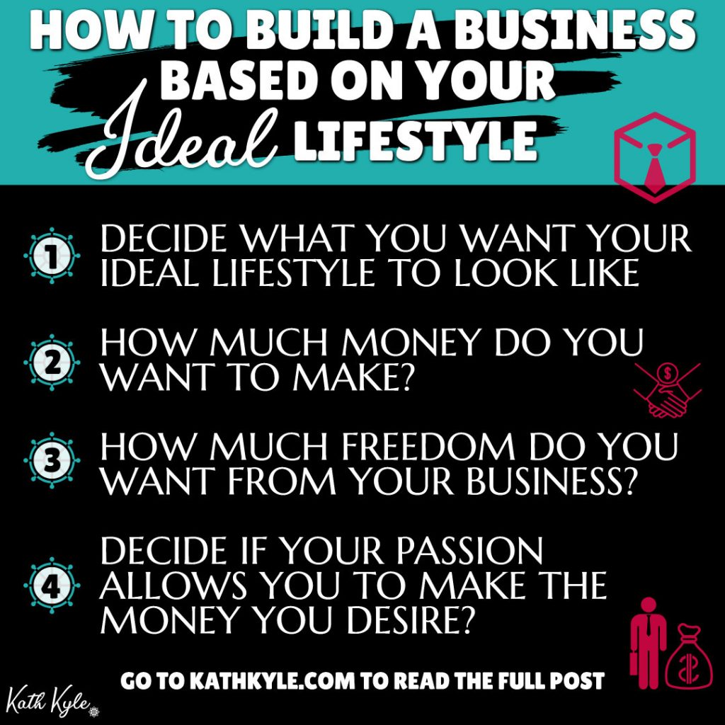 How To Build A Business Based On Your IDEAL Lifestyle (It Worked For Me!)