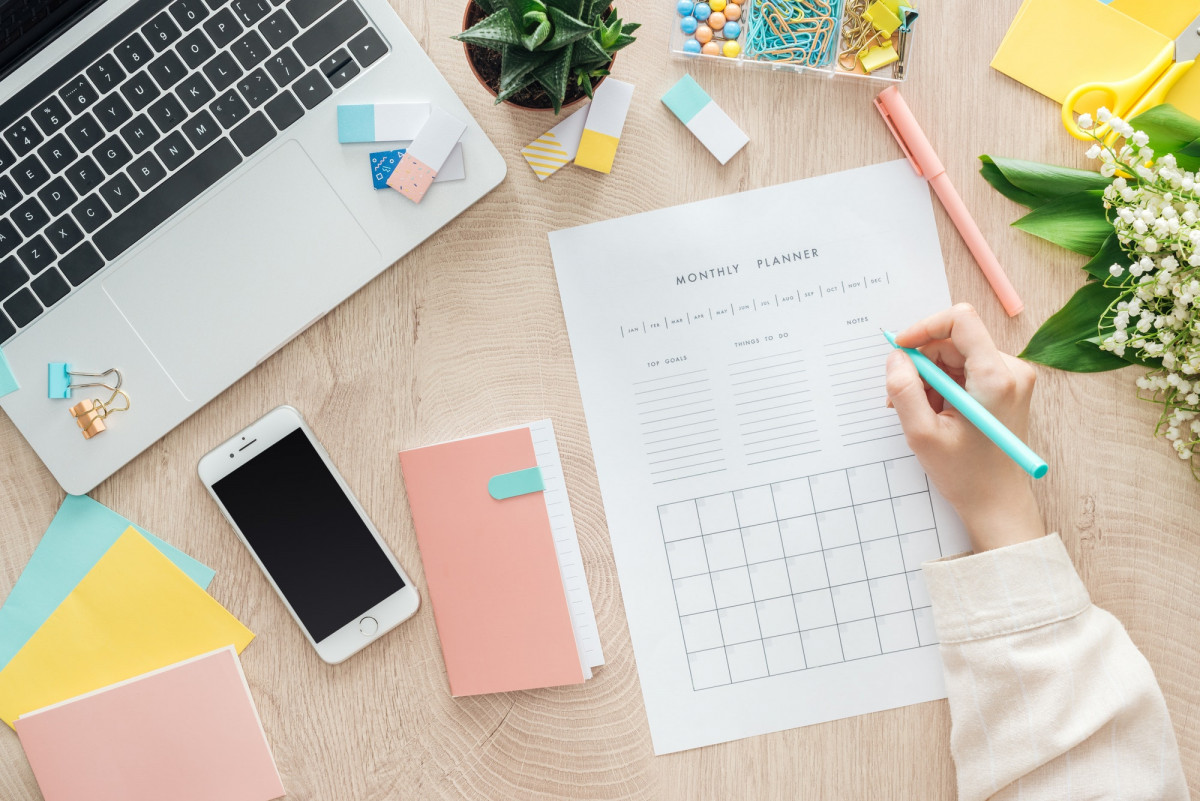 Plan With Me: March 2021 Monthly Business Planning & Goal Setting