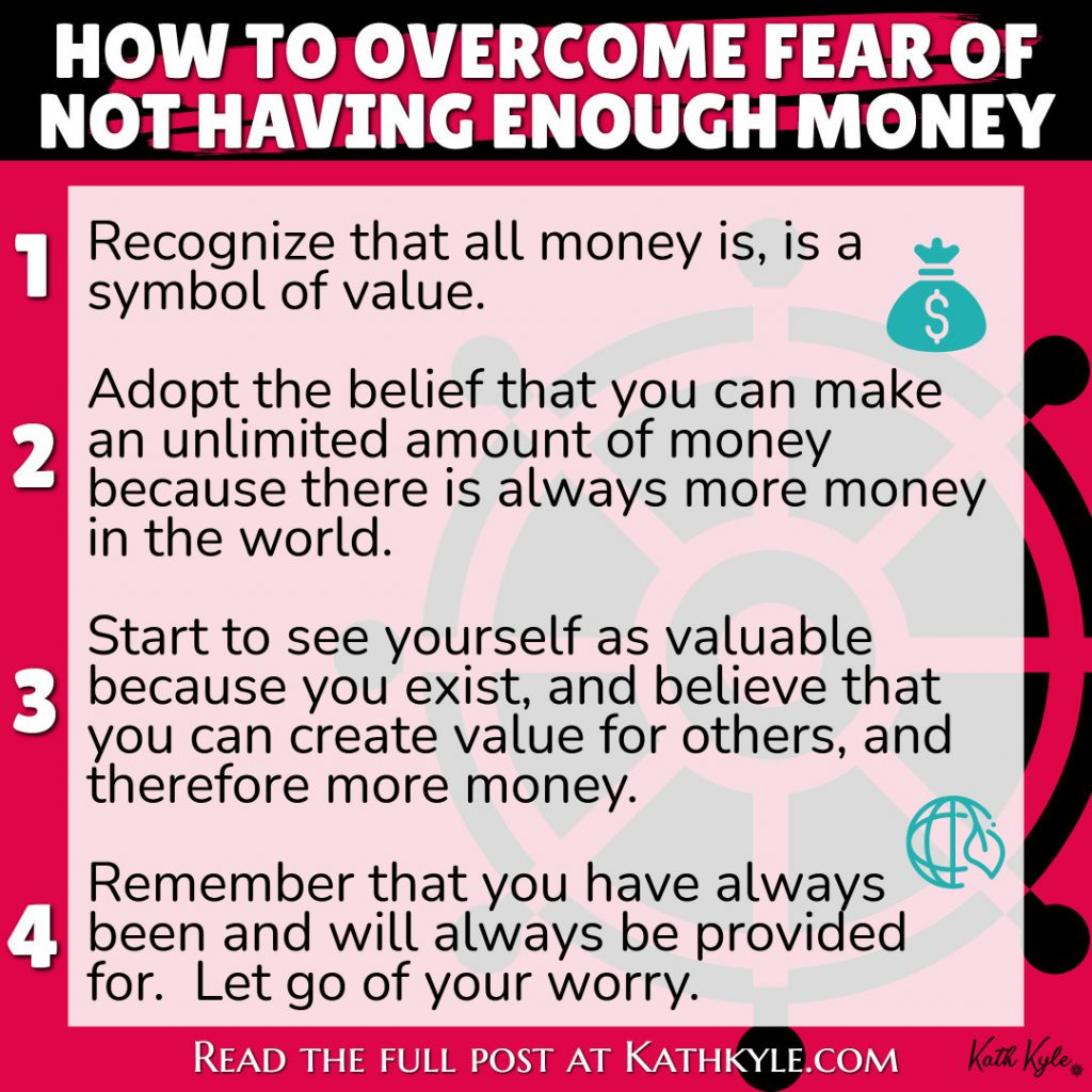 How To Overcome Fear Of Not Having Enough Money: STAMP It Out Process To Reject Disbelief
