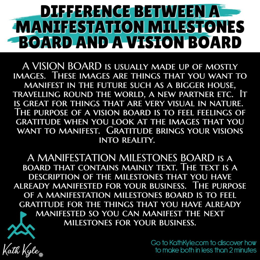 How To Make A Manifestation Board For Business (+ FREE Printable Template Pack)