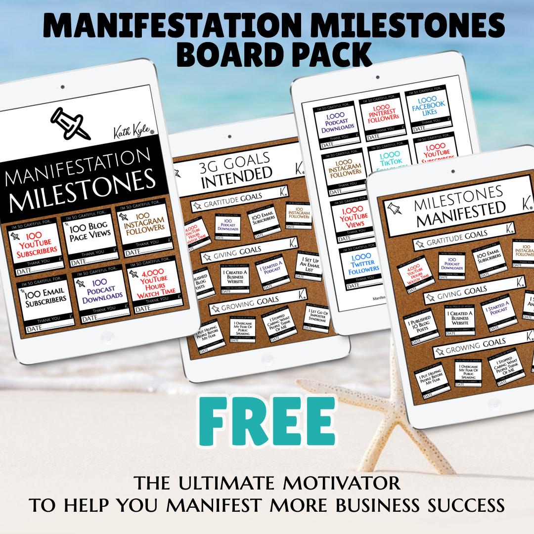 M Milestones Board Pack