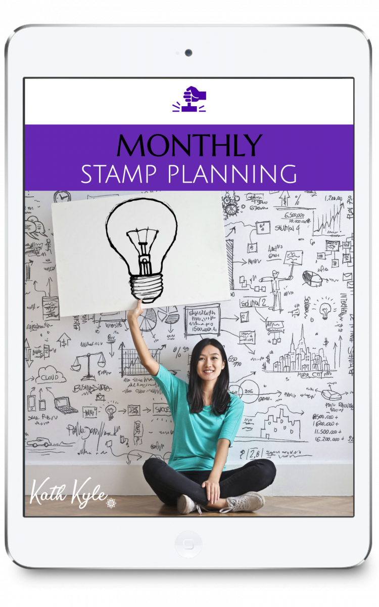 Monthly STAMP Planning front cover