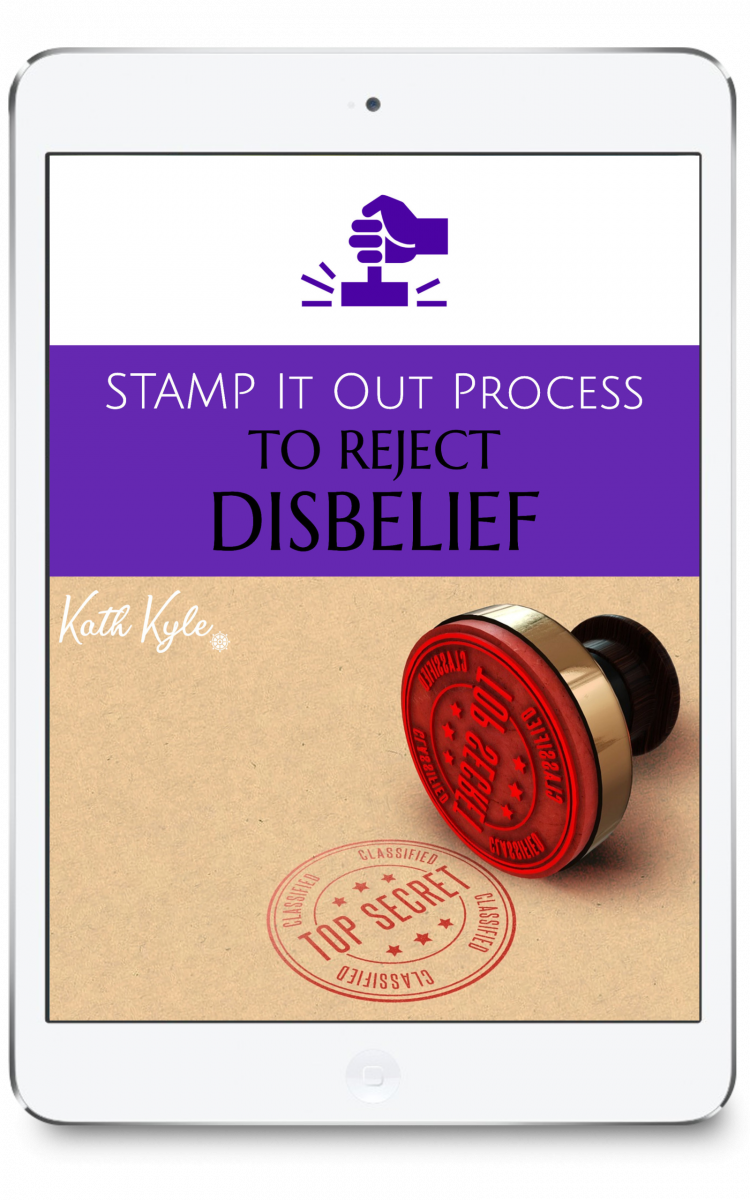 STAMP It Out Process To Reject Disbelief Ipad