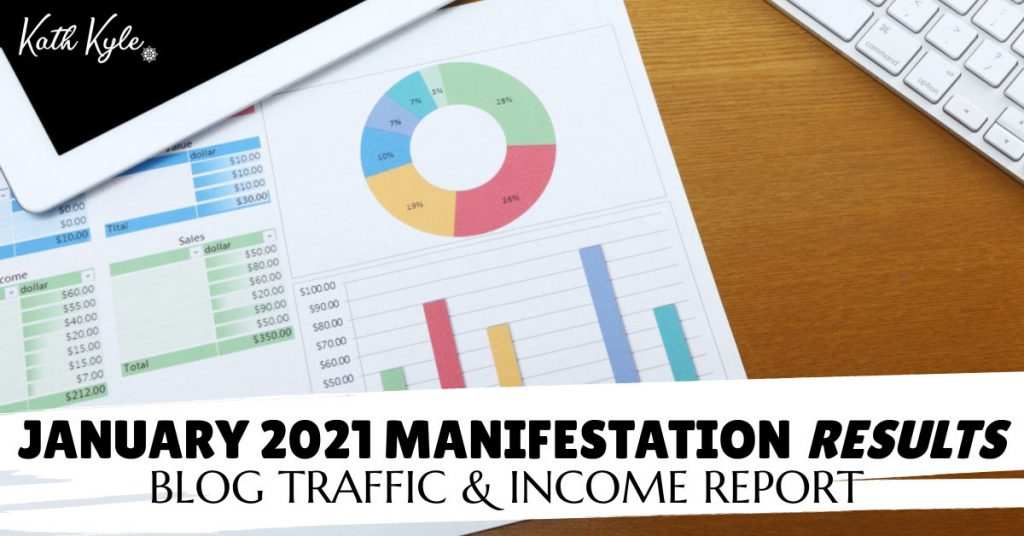 January 2021 Manifestation RESULTS - BLOG
