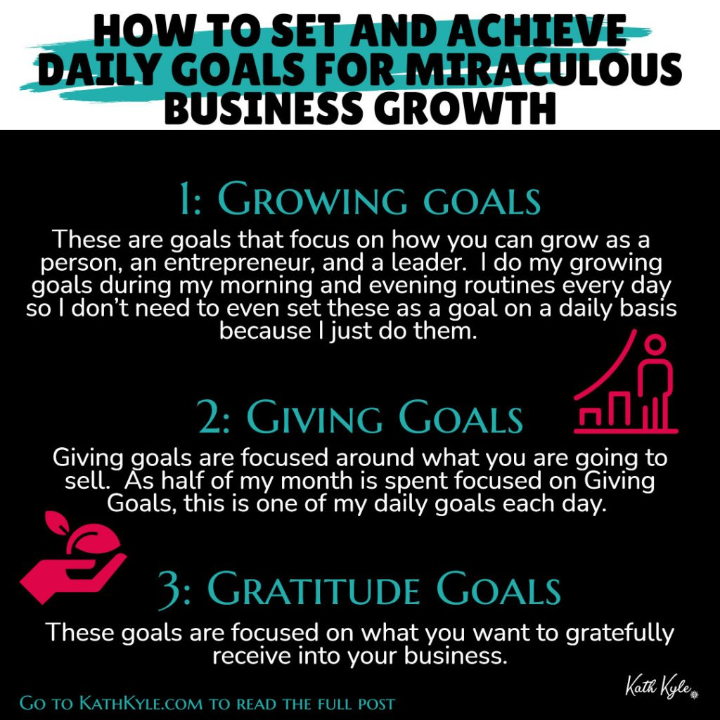 How To Set And Achieve Daily Goals For Miraculous Business Growth