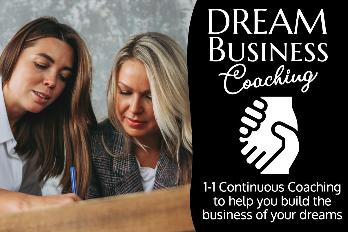 Dream Business Coaching Hero Shot