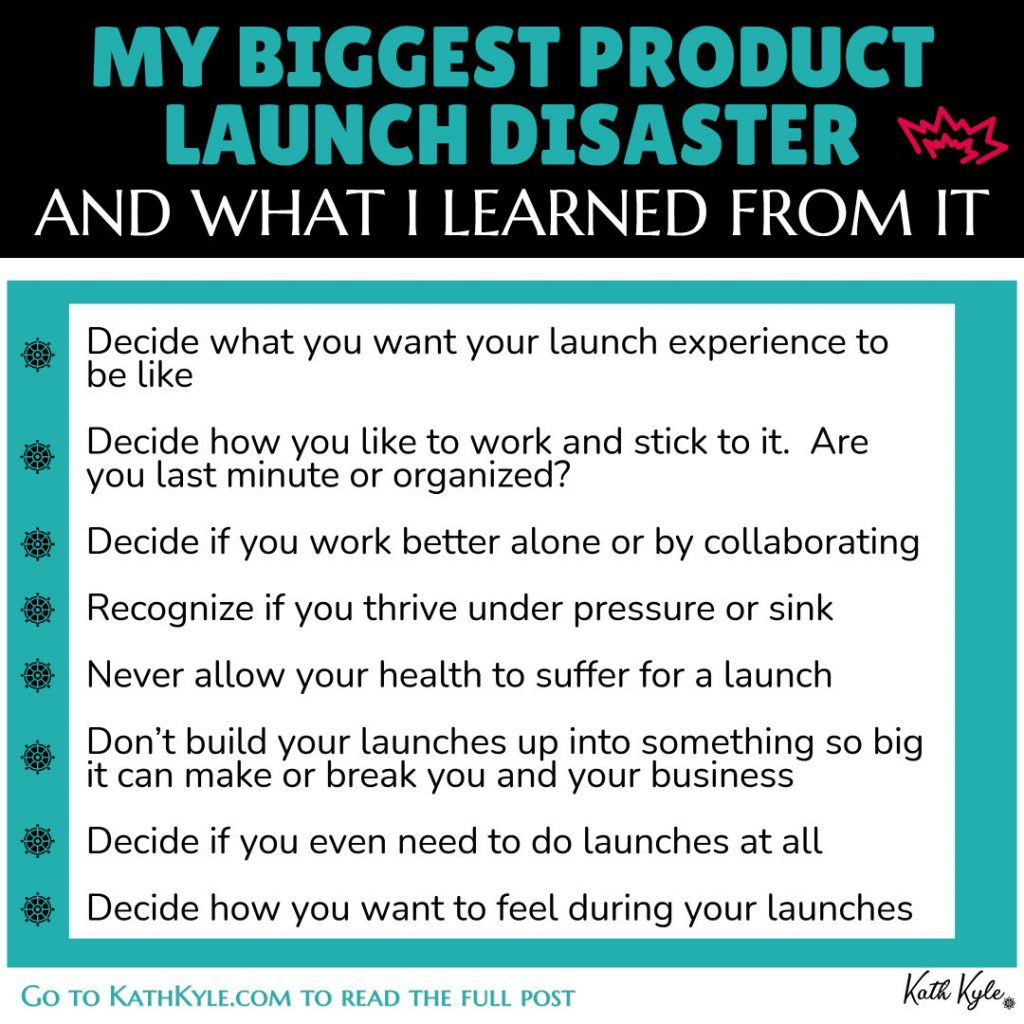 My Biggest Product Launch Disaster And What I learned From It