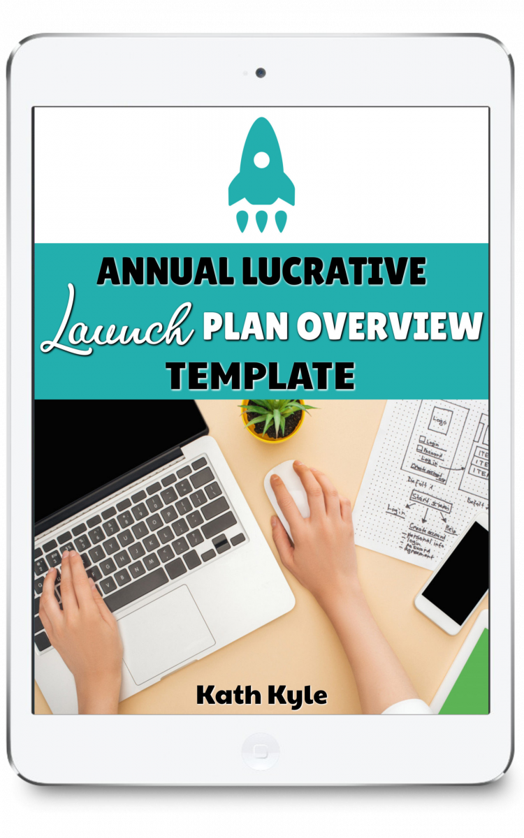 Annual Lucrative Launch Plan Overview Template