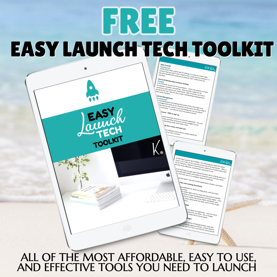EASY LAUNCH TECH TOOLKIT AD SQUARE