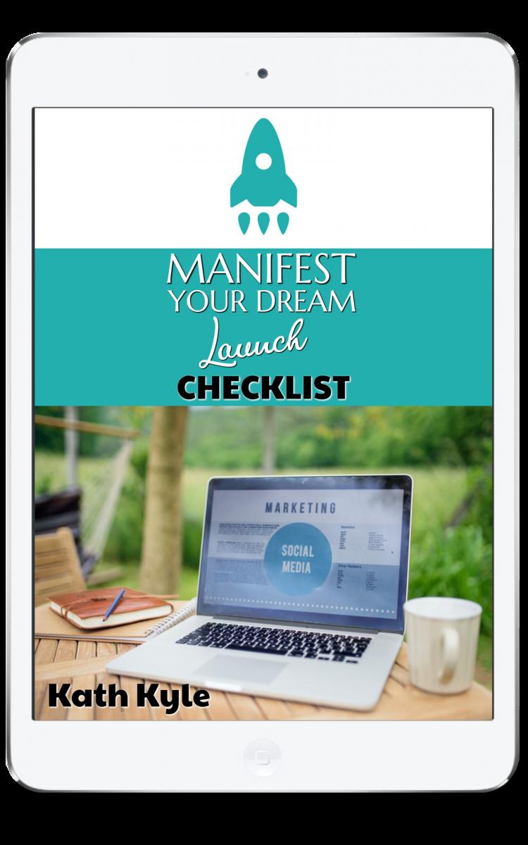 Manifest Your Dream Launch Checklist