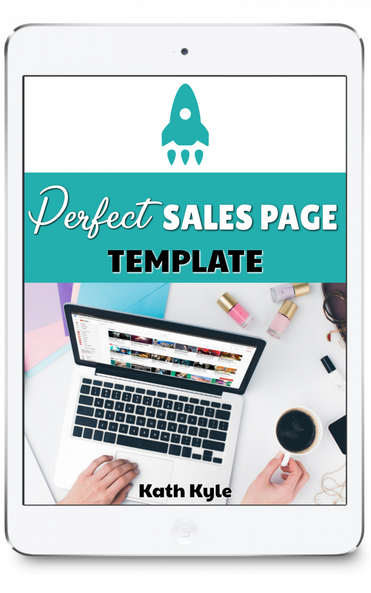 Perfect Sales Page Template