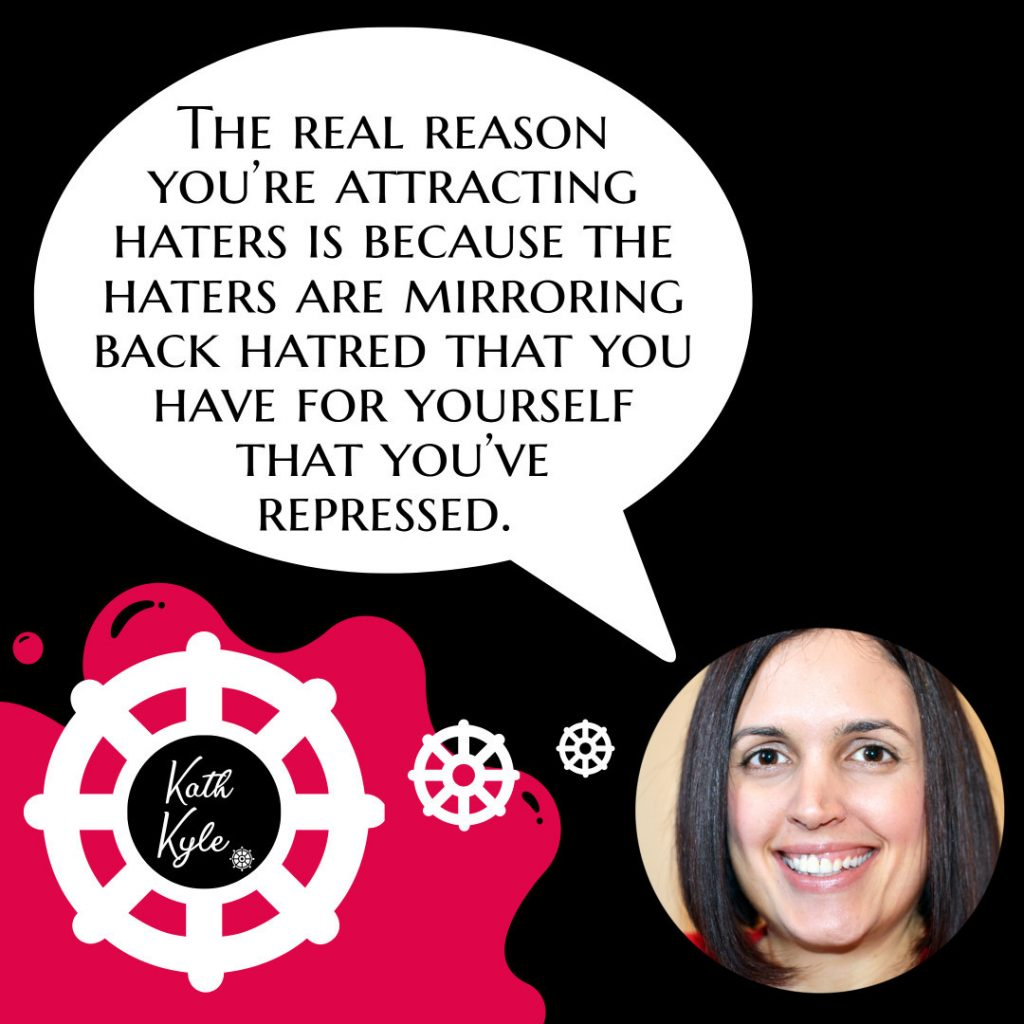 The Real Reason Why You Attract Haters