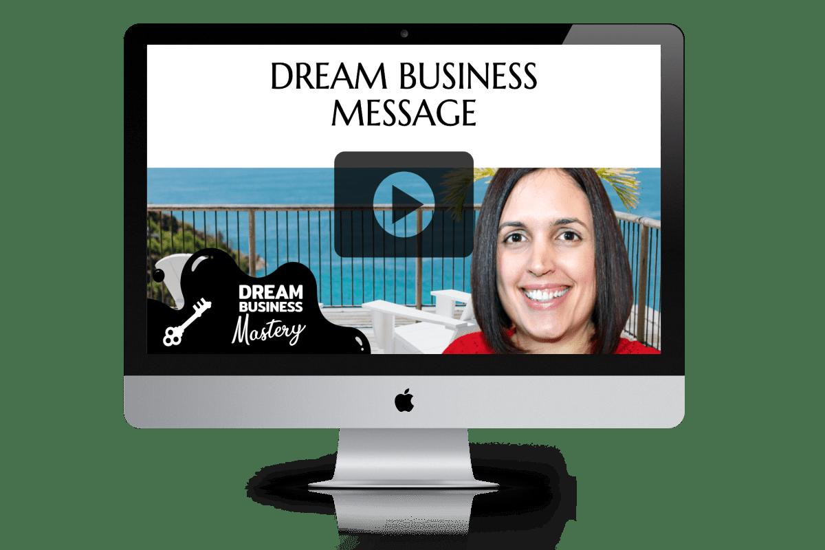Dream Business Message