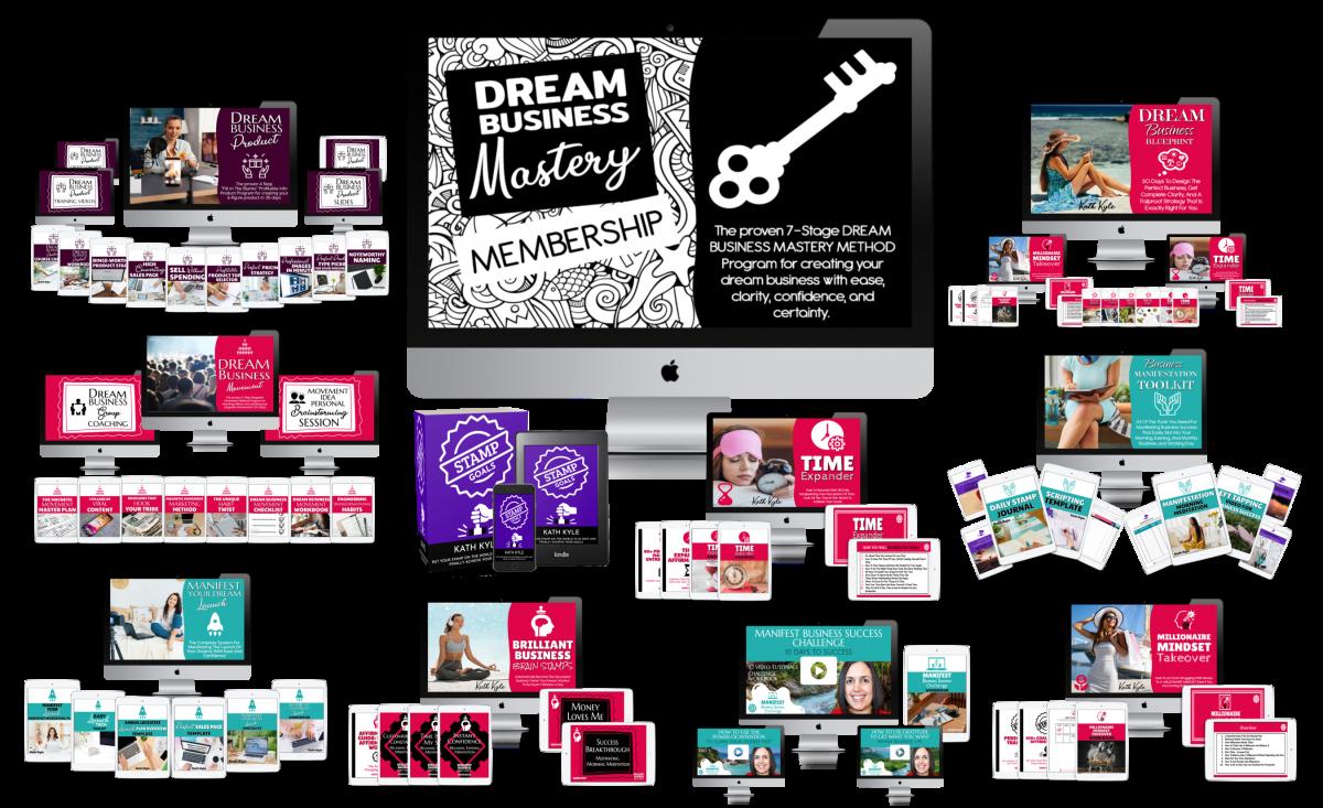 Dream Business Mastery Membership Full Bundle