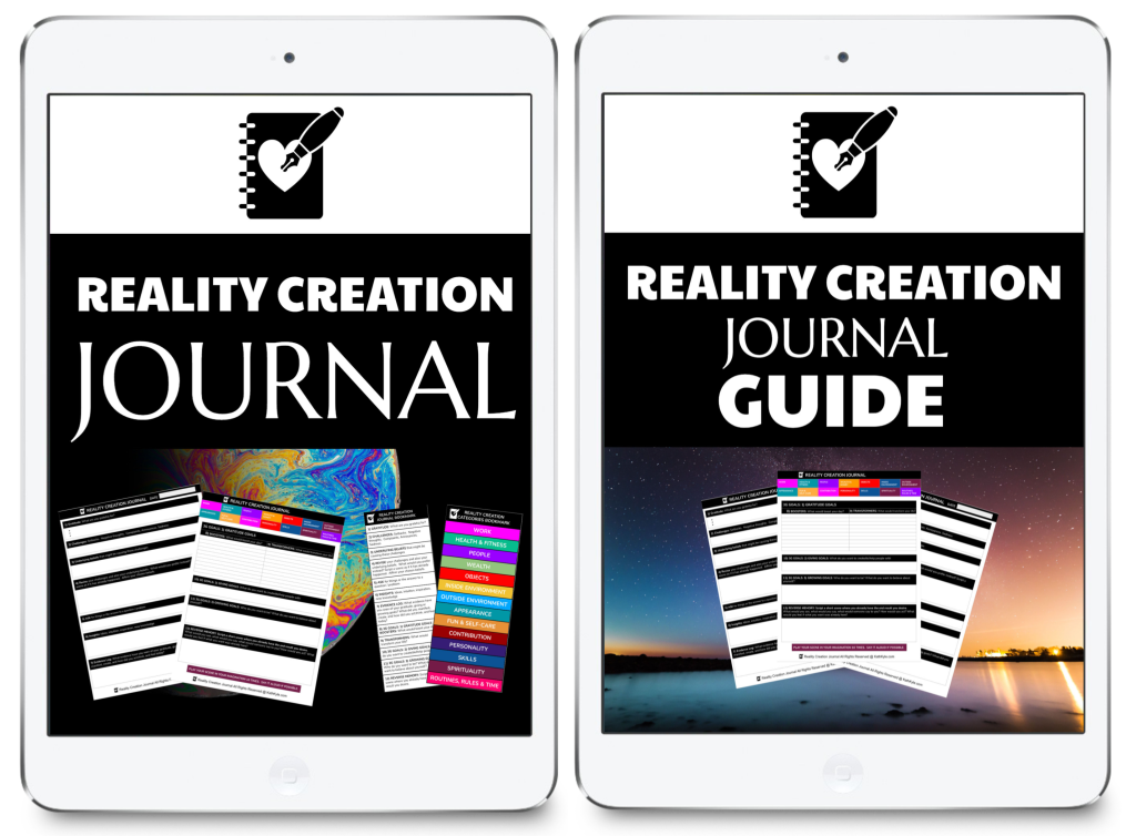 Reality Creation Journal, Bookmark & Guide